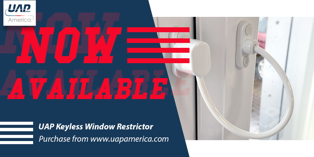 UAP America Keyless Window Restrictor
